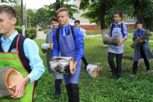 ФаустовД_эко субботник в лицее №3